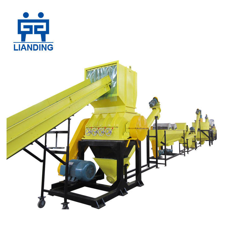 pet bottle flakes washing recycling production line / waste plastic flakes recycling machine price