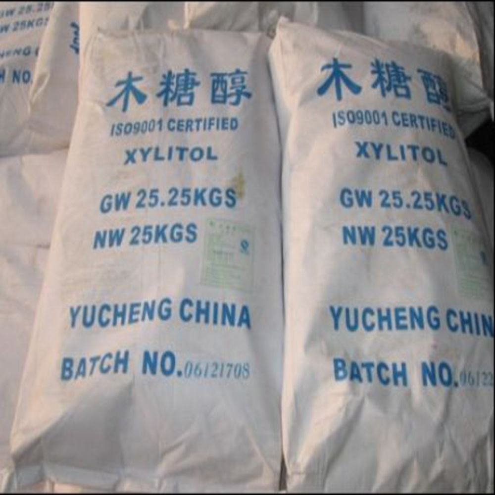 China Manufacturer Hot Sale Sweetener Bulk Xylitol for dentist recommended xylitol chewing gum