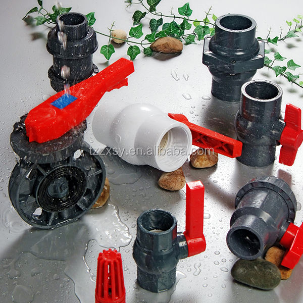 Made in China Good Price&Quality PVC Pipe Fittings Butterfly Valve