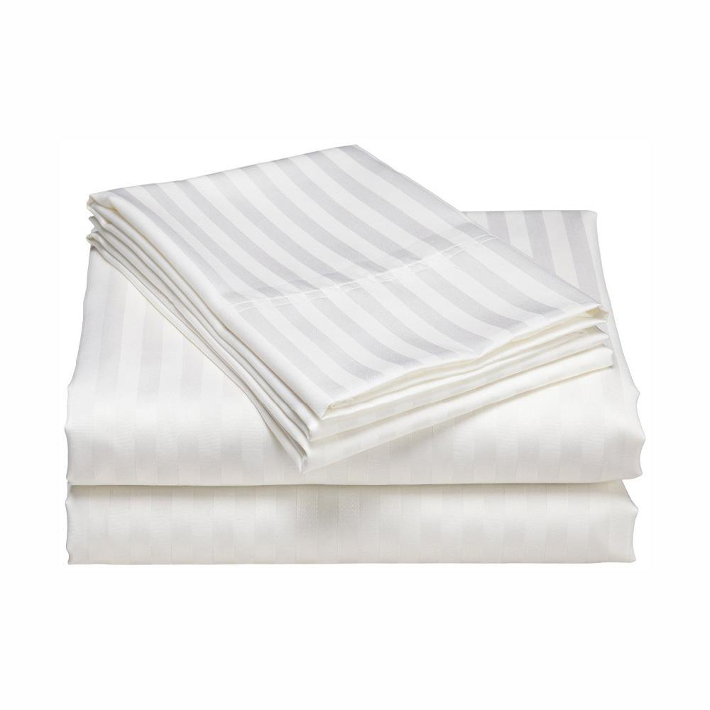 Wholesale white hotel bed sheet imported cheap king size custom duvet covers