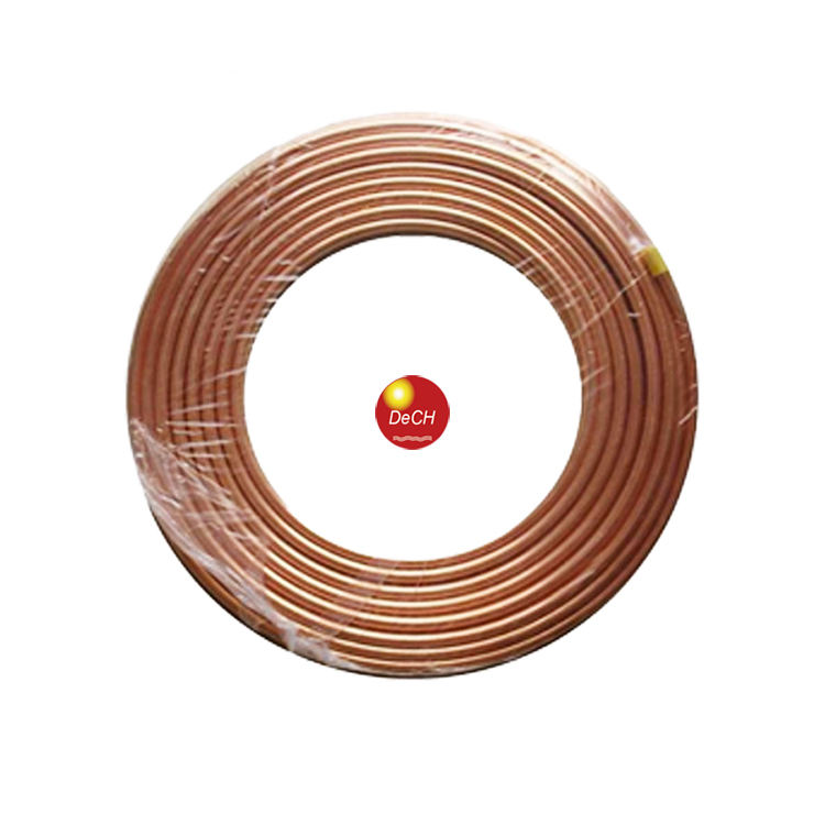 "High Quality Seamless 1/4"", 3/8"", 5/16"", 3/4"" Coil Pipe / Copper Tube"