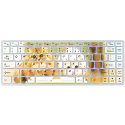 custom printed silicone skin laptop keyboard cover