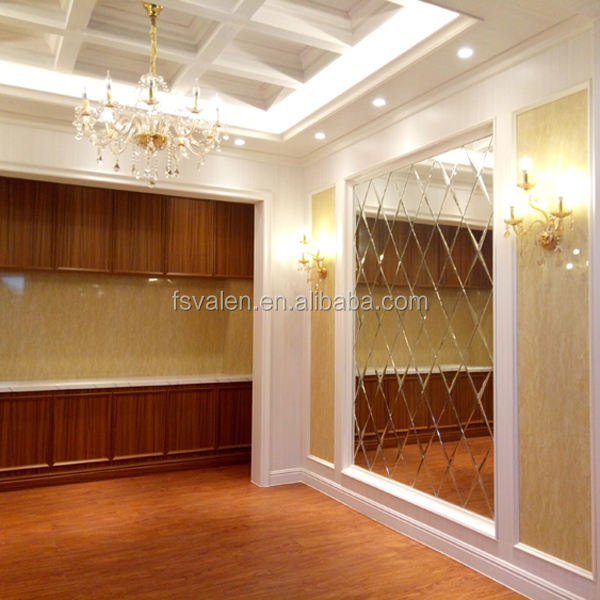 Free sample high quality custom plastic material 600mm price pvc wall panel for home decor