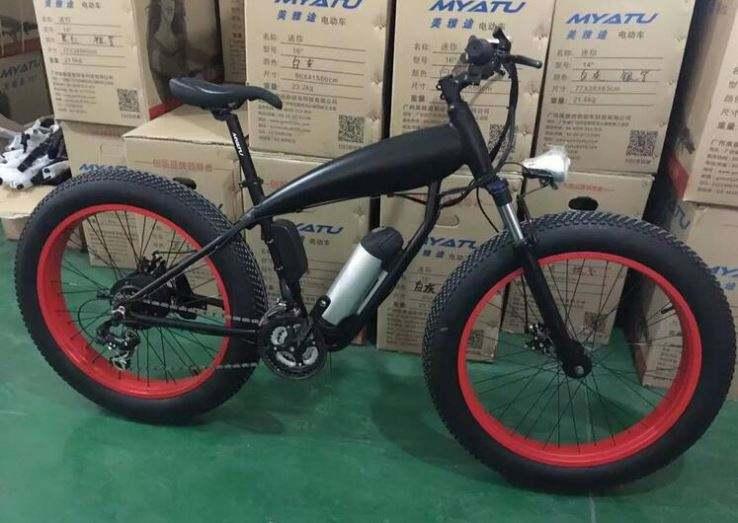Different Color Emountain Bike Electric Bike 250W