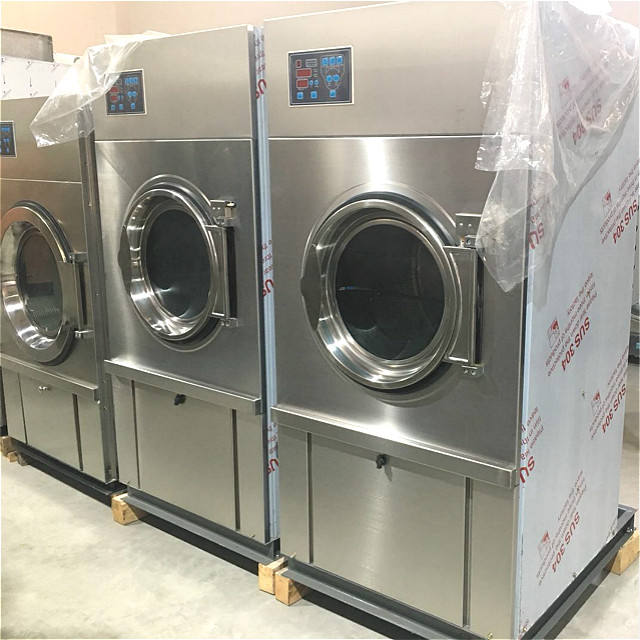 Full stainless steel Industrial tumble dryer/Laundry drying machine
