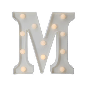 Letter Sign Night Lights LED Alphabet Neon Art Lights Wall Decor Light up Words for Wedding Birthday Party Christmas Home
