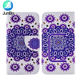 3.5-6.0 inch Customize pu leather mobile phone case universal silicone wallet flip smart cell phone case