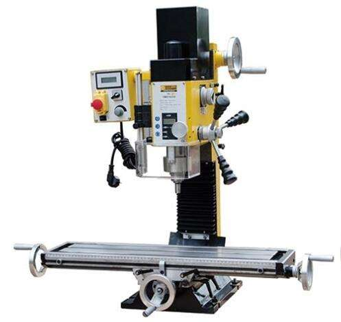 ZAY7025V DC Brushless Motor Mini Milling Drilling Machine with Metal Working