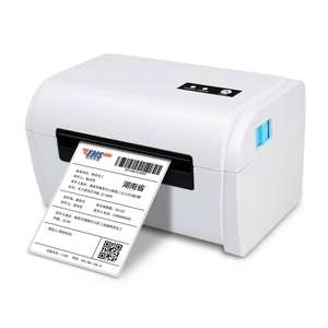 110mm usb+bluetooth receipt barcode thermal label printer for 4x6 inch shipping label express bill barcode label