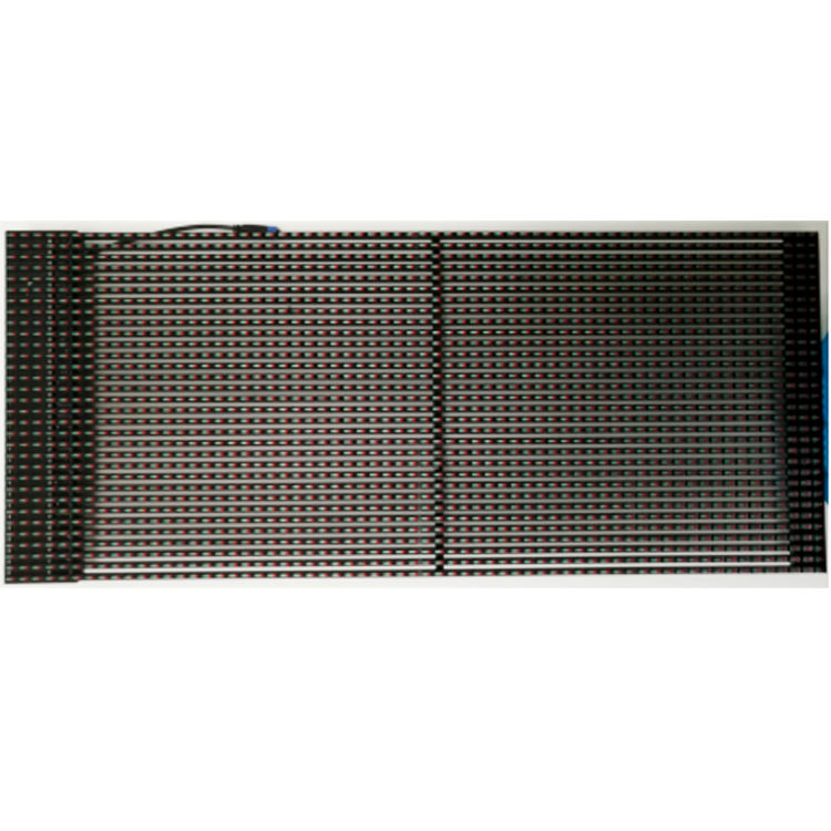 Outdoor p15.625 transparent led grid display für gebäude