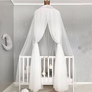 Hot selling New Design Lace Baby Bed Mosquito Net Cotton Crib Canopy Tent