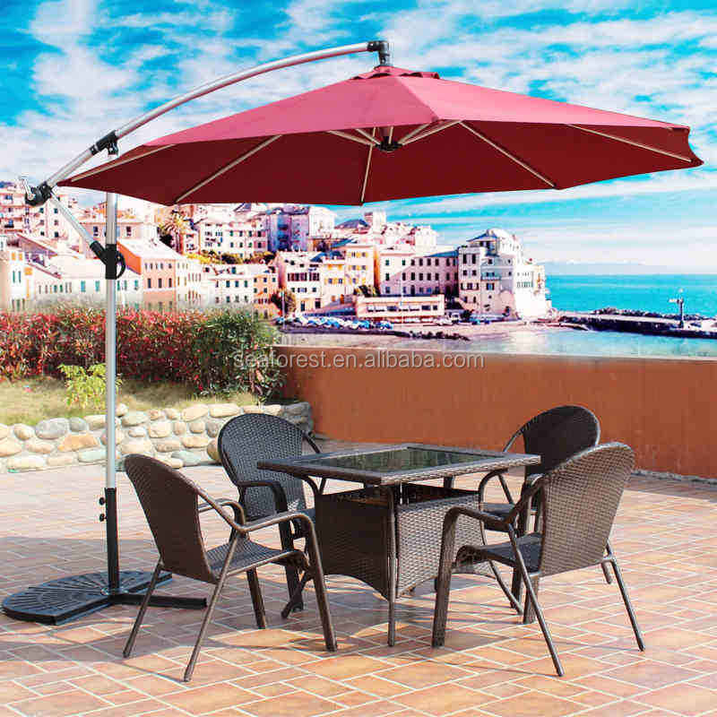 Banana outdoor patio umbrella/graden erba ombrello/parasole spiaggia parasole