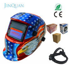 Automatic dimming welding helmet mask