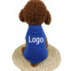 new factory blank dog clothing fashional white plain dog t shirts