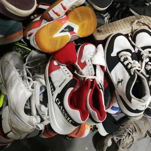 Used mixed shoes used sport shoes