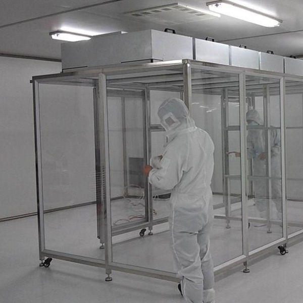 Air Filter Cleaning Booth,Class 100 Cleanroom / Dust Free Portable Clean Room