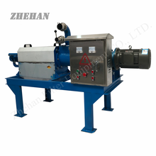 farm waste/industrial waste screw type animal manure liquid solid seperator/solid liquid separator for food dehydrator