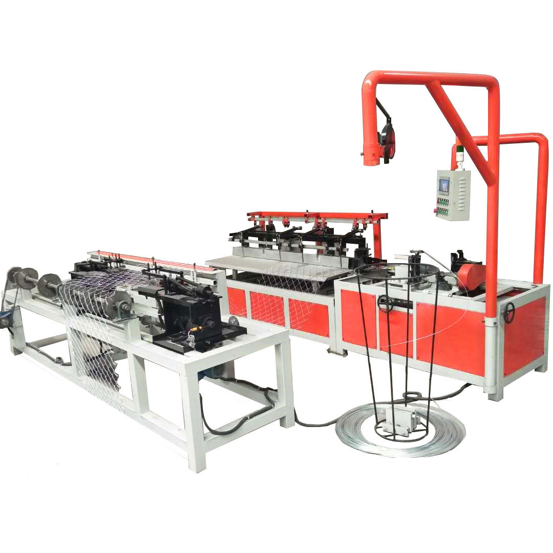 Manual operated wire mesh fence making machine