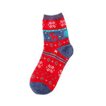 Factory supply cute cozy christmas holiday socks men christmas socks