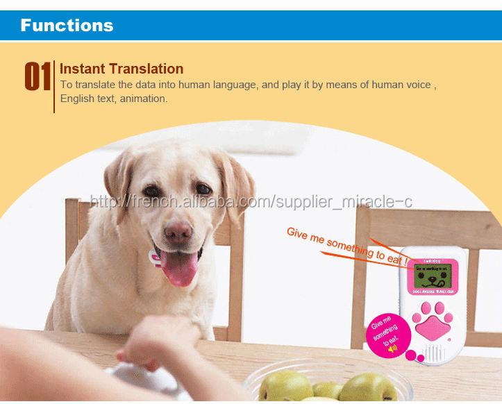 traducteur de langue de chien