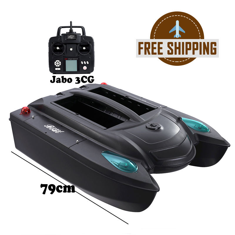 Dropship JABO JB3CG 3CG RC Electronic Dual Hulls Bait Boat GPS Sonar Fish Finder Sea Fishing Free Shipping EU European Union