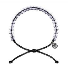 Transparent Glass Beads Adjustable Cord Beads Wristband Women ocean Bracelet