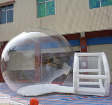 Inflatable clear bubble camping tent/inflatable bubble lodge