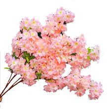 ZERO Silk Flowers Artificial Cherry Blossom Tree Arches Branch For Wedding Party Decorative