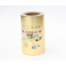 printed treatment food packaging aluminium foil laminated butter paper