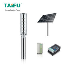 Industrial submissive high flow solar powered water pumps set