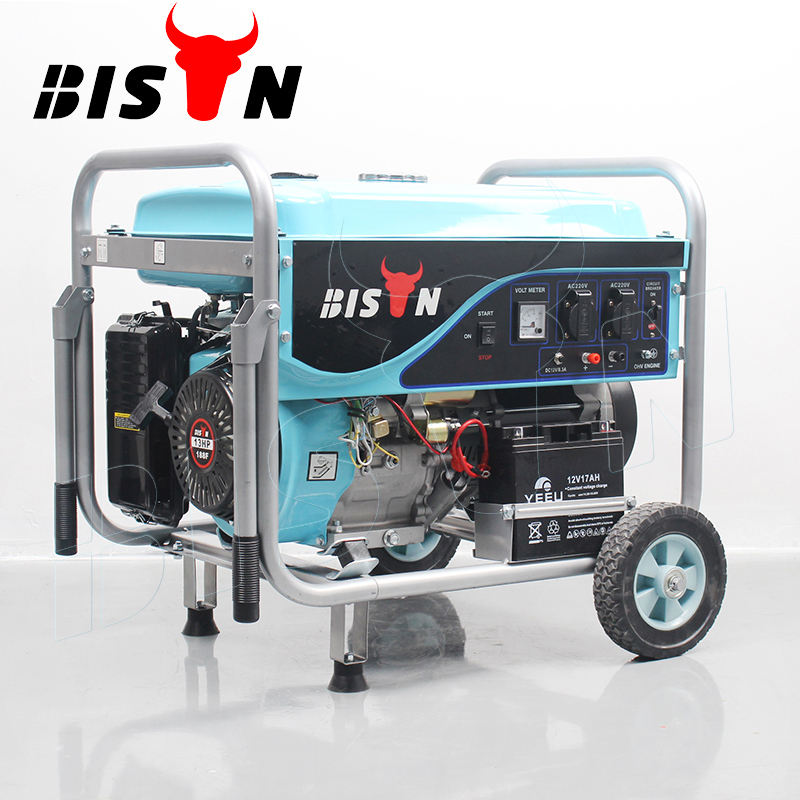 BISON (CHINA) BS6500P (E) <span class=keywords><strong>5kw</strong></span> heißer verkauf Tragbare <span class=keywords><strong>Benzin</strong></span> <span class=keywords><strong>Generator</strong></span>