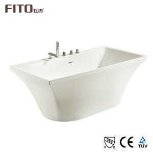 Trung quốc Trung Sơn FITO CUPC CE TUV1580X800X600MM Trong Nhà Bồn Tắm Trắng Bồn Tắm Xoáy Nước