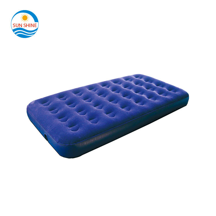inflatable folding relax massage 32 hole flocking single bestway air bed