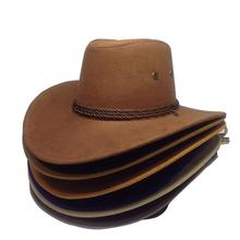 Cowboy Hat Suede High Quality Mens Hat Custom Cap Hat