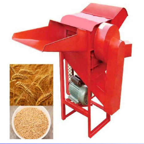 Low price high quality Rice and wheat Thresher rice and wheat threshing machine