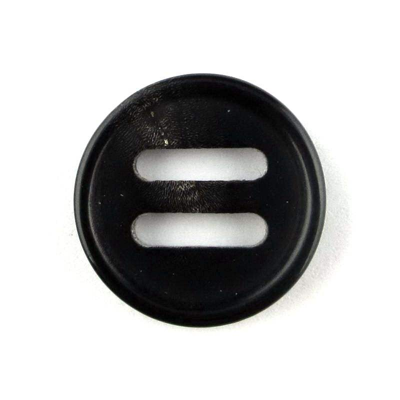 Black color long eyes horn button accessories for garments