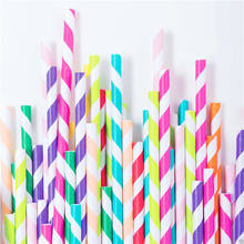 Eco-Friendly Biodegradable Disposable paper compostable straws party drinking