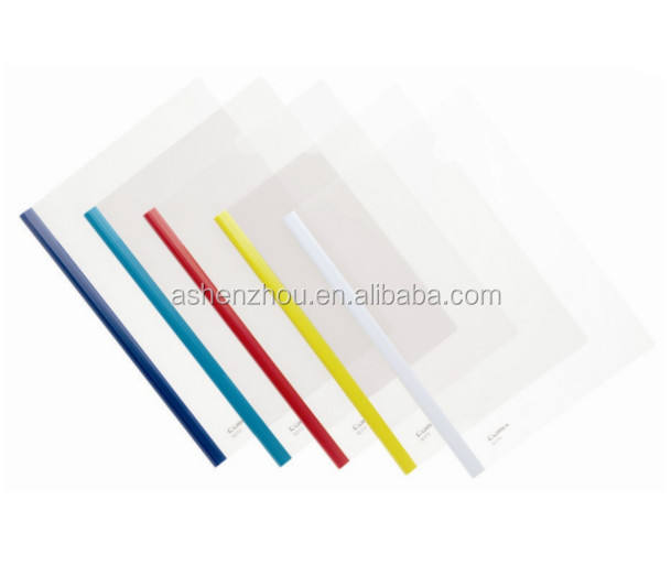 Hot selling wholesale custom office presentation document A4 plastic PP transparent report file cover