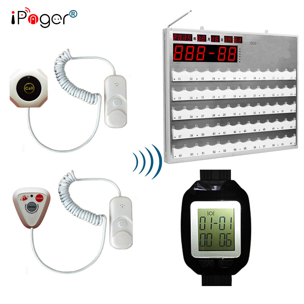 Long range alarm wireless calling system, smart nurse call system
