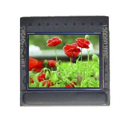 Micro display transparant oled-scherm