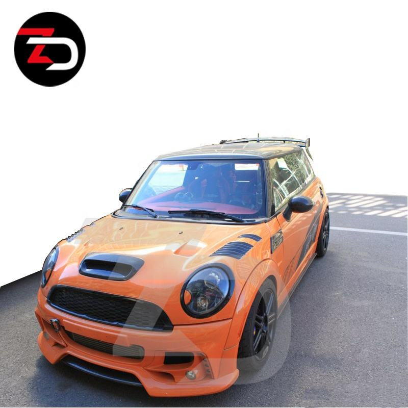 Vendas direto da fábrica mini body kits body kit para BMW MINI COOPER R56 para R56 S AG estilo FRP completa body kit