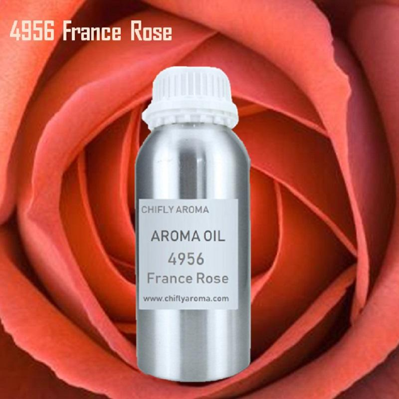 France Rose Hotel Aroma Oil Nature Fragrance Oil Branded Perfume Oil for Commercial Scent Diffuser