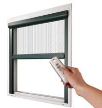 Motorized Retractable Screens Retractable Invisible Fly Screen Window For Insect Production