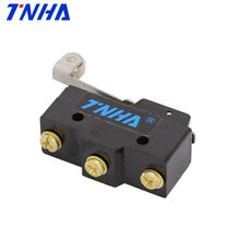 TNHA CM1703 Iron Screw Terminal Plastic Roller 15A Micro Switch for Door Control