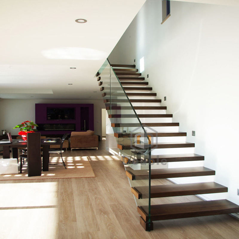 Modern Wood Stair / Led Floating Stairs / Bespoke Staircase