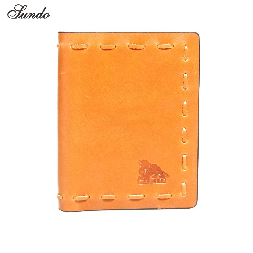 wholesale custom rfid men's wallet made of genuine leather