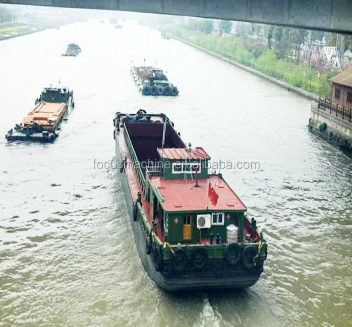 Boats ships 35t sand barge for sale