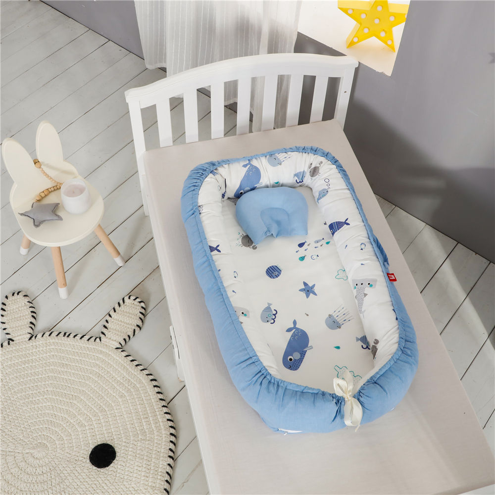 2020 New Design Newborn Snuggle Nest Modern Baby Sleep Bed Cots