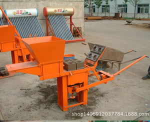 Africa hot sale QMR2-40 used brick/block making machine for sale in China