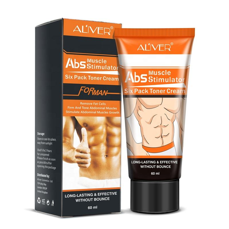 Aliver Fat Burning Enhance Skin Elasticity Lose Weight Stronger Abdominal Muscle Slimming Cream